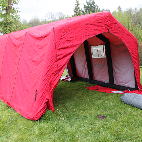 Fast Inflation Tent