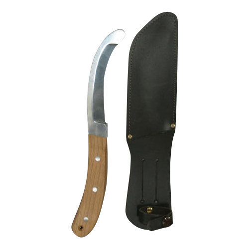 Knife for quick release with sheath