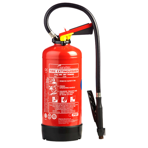 Powder Cartridge Fire Extinguishers
