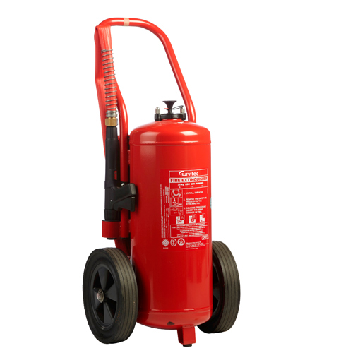 Wheeled ABC Powder Cartridge Extinguishers
