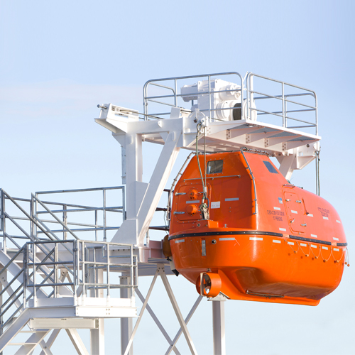 Davits and Winches