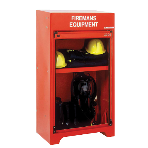 RS250FE Firefighter's Equipment Cabinet