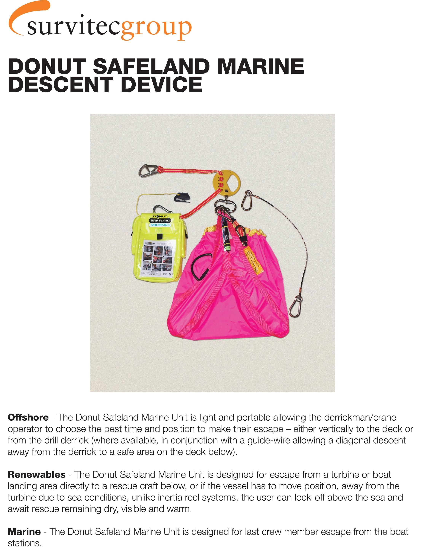 Safeland Marine Descent Device