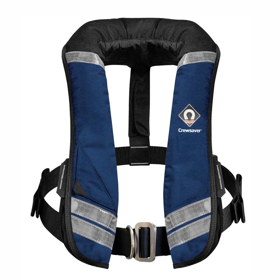 Crewfit 275N XD Navy Automatic Harness