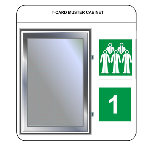 t card muster and assembly stations - Enquiry Muster