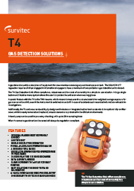 T4 4 Gas Detector
