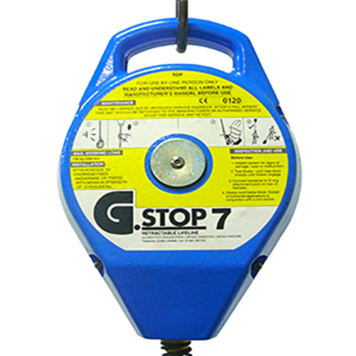 Lightweight G.Stop7 Fall Arrester (7 Metre Cable)