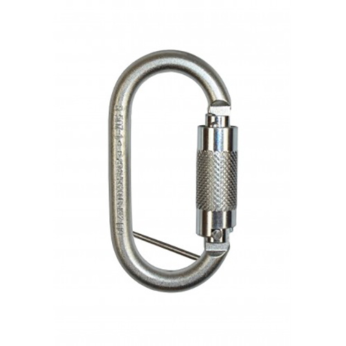 17mm Twistlock Steel Karabiner with Captive Pin