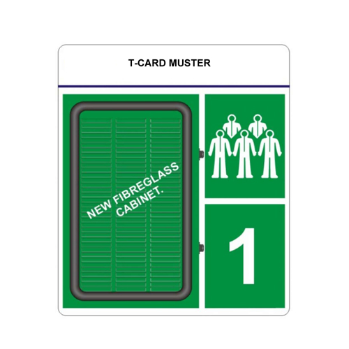 T-Card Muster and Emergency Response Cabinets