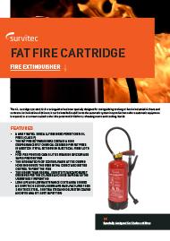Survitec Fat Cartridge Fire Extinguishers