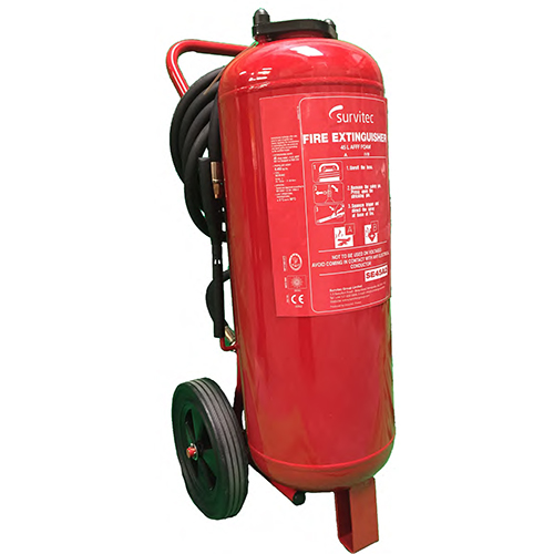 Wheeled Foam Cartridge Fire Extinguishers