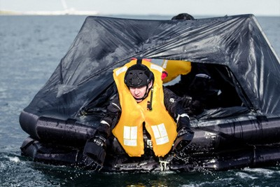 Survitec Defence Liferaft